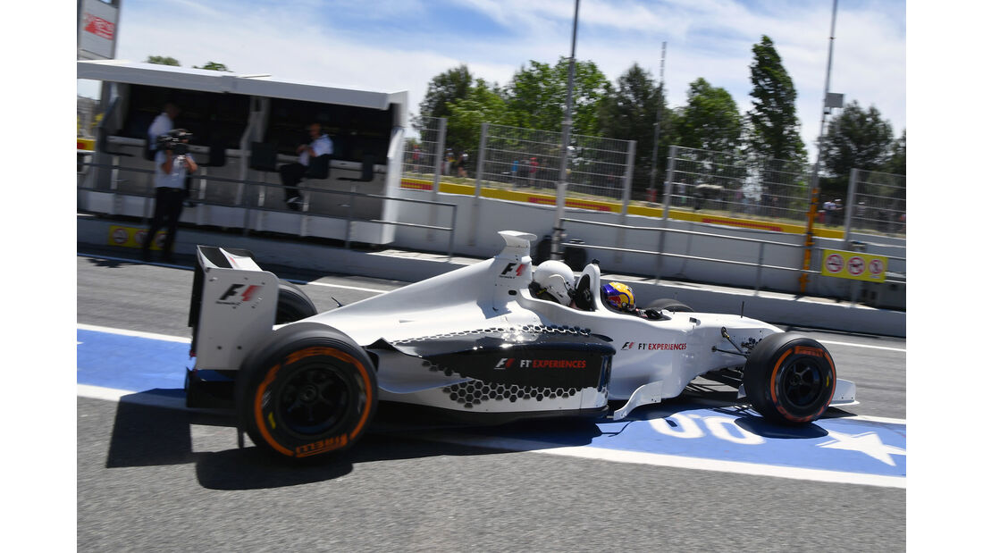 F1-Doppelsitzer - GP Spanien - Barcelona - 12. Mai 2017