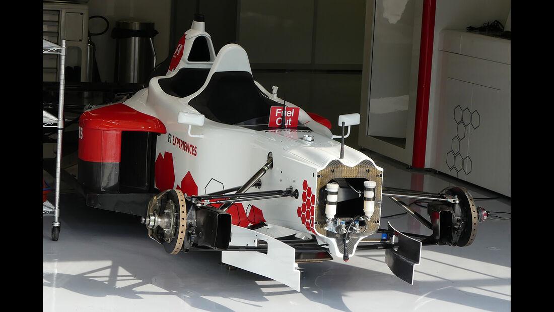 F1-Experience 2-Sitzer  - GP Italien - Monza - Formel 1 - 30. August 2017
