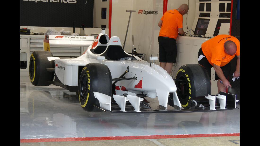 F1 Experience - Formel 1 - GP Spanien - Barcelona - 9. Mai 2018