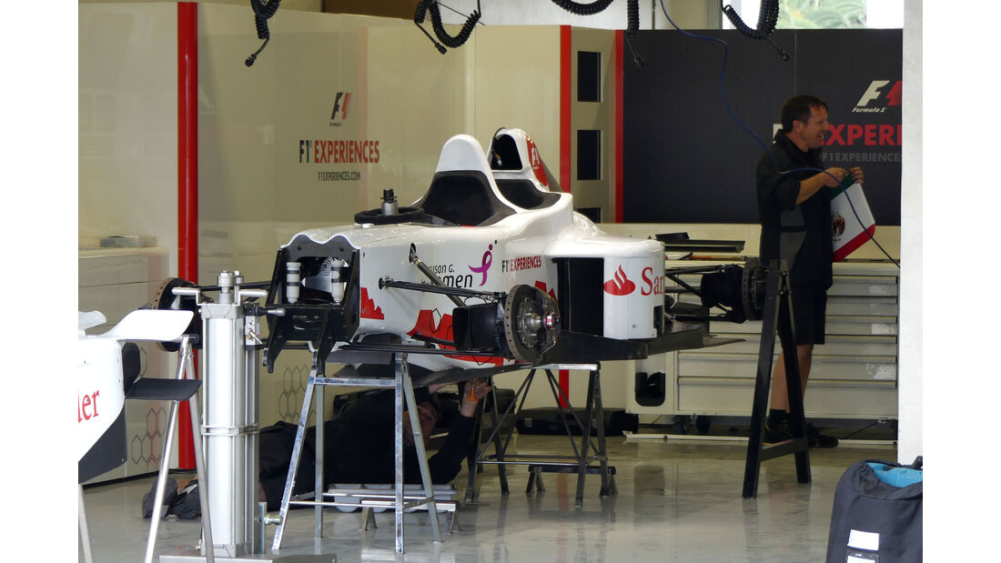 F1 Experience - GP Mexiko - Formel 1 - Mittwoch - 25.10.2017