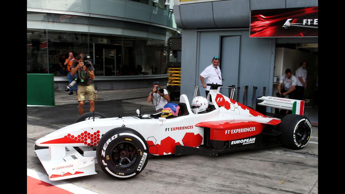 F1-Experience - Zweisitzer - GP Italien - Monza - Formel 1 - 31. August 2017