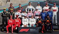 F1-Fahrer 2018 - GP Abu Dhabi 2018