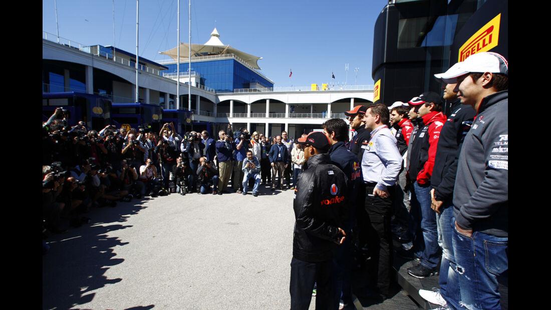 F1 Fahrer GP Türkei 2011