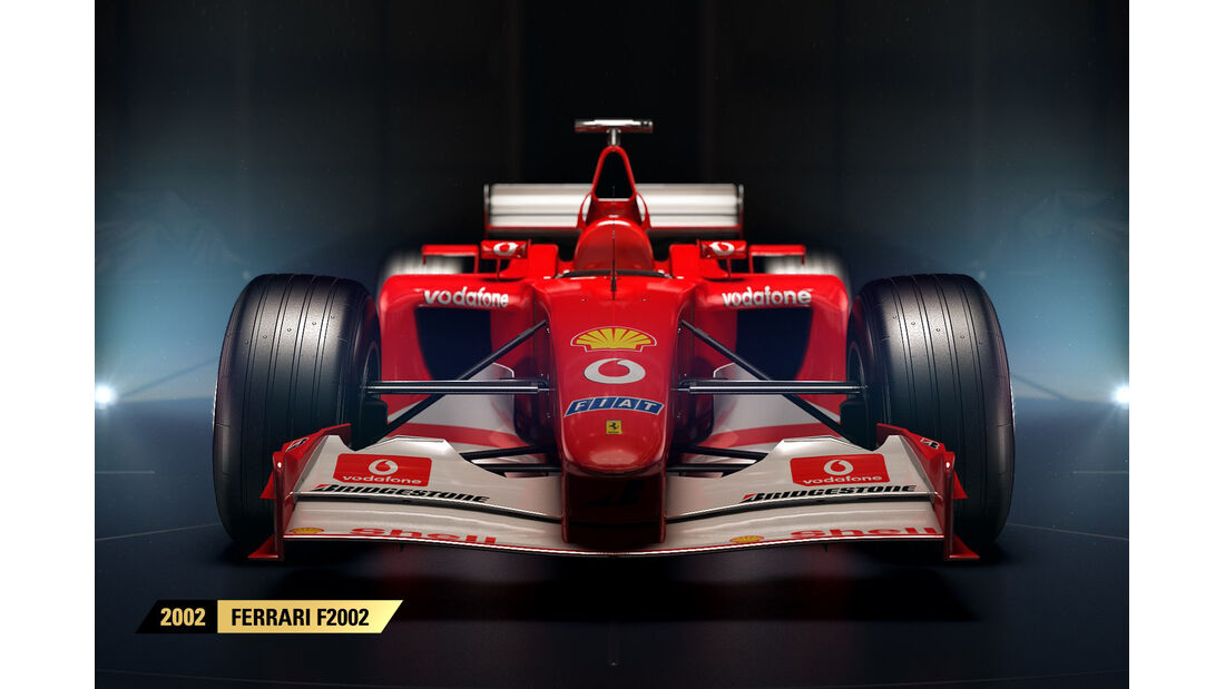F1 Game 2017 - Codemasters - Screenshot - Ferrari F2002 (2002)