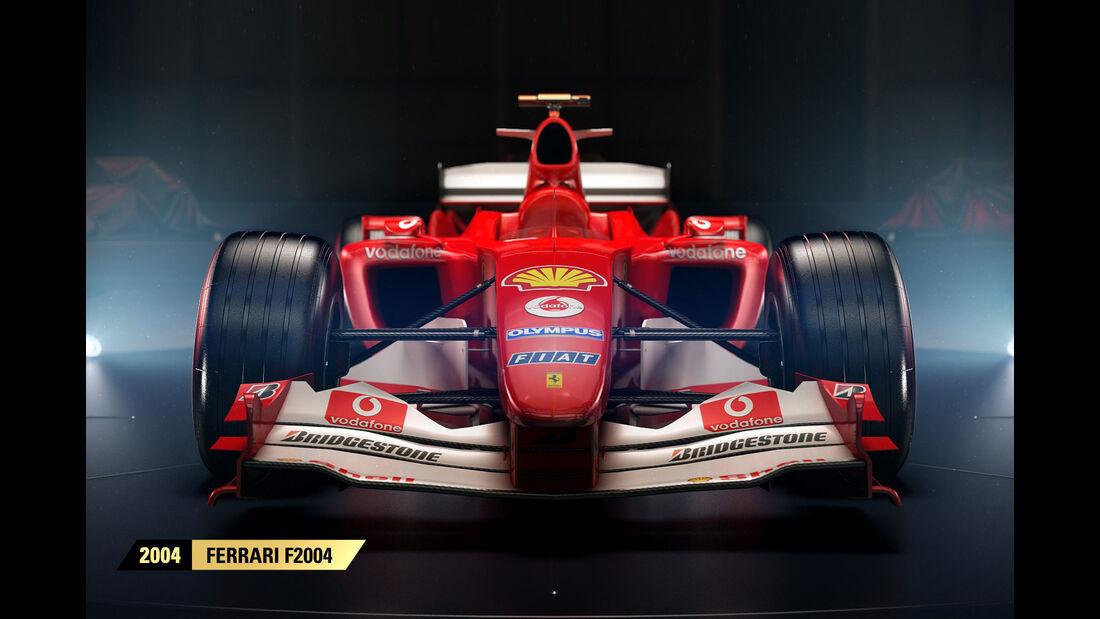 F1 Game 2017 - Codemasters - Screenshot - Ferrari F2004 (2004)
