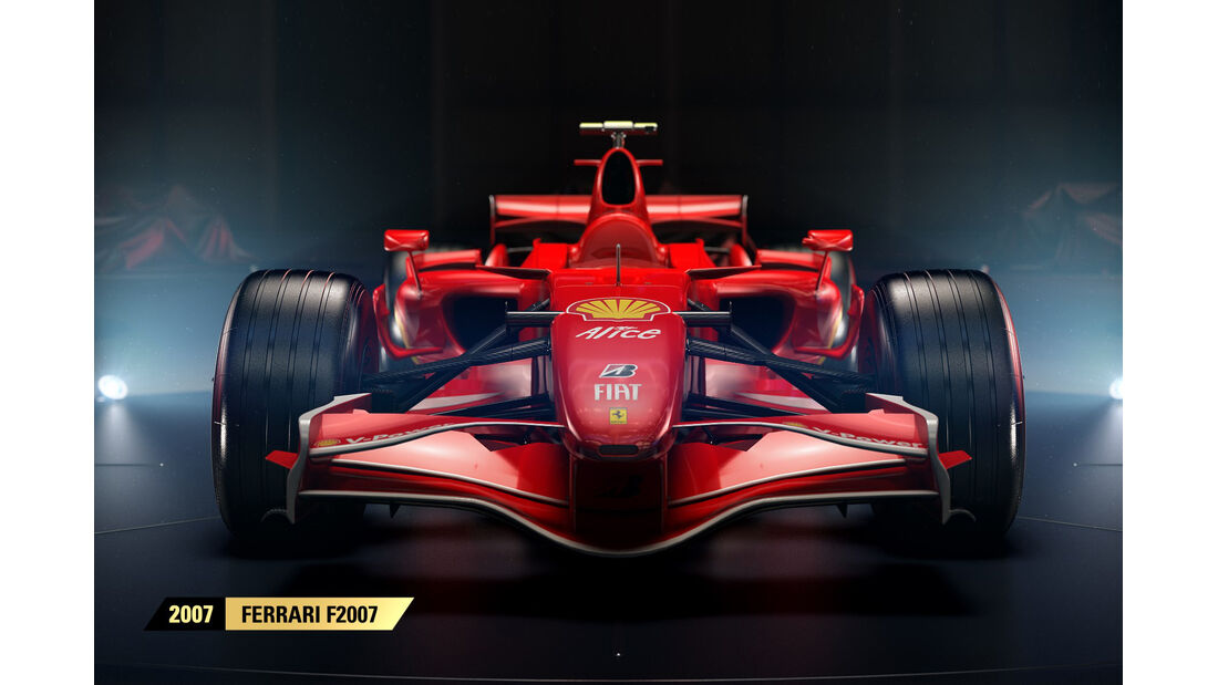 F1 Game 2017 - Codemasters - Screenshot - Ferrari F2007 (2007)
