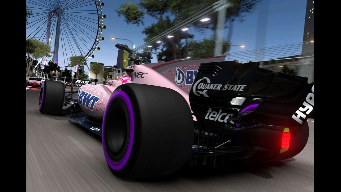 F1 Game 2017 - Codemasters - Screenshot - Force India VJM10