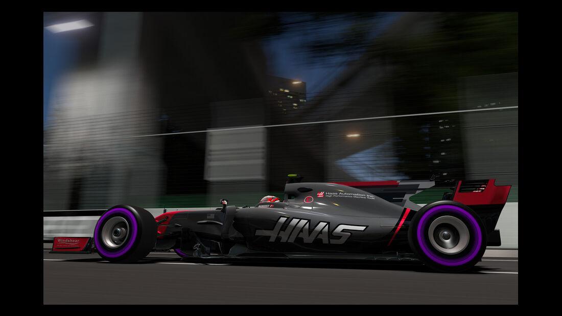 F1 Game 2017 - Codemasters - Screenshot - HaasF1 VF17