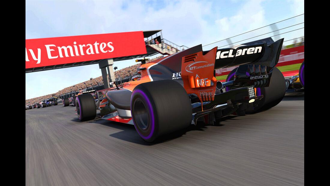 F1 Game 2017 - Codemasters - Screenshot - McLaren MCL32