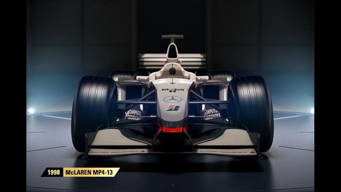 F1 Game 2017 - Codemasters - Screenshot - McLaren MP4/13 (1998)