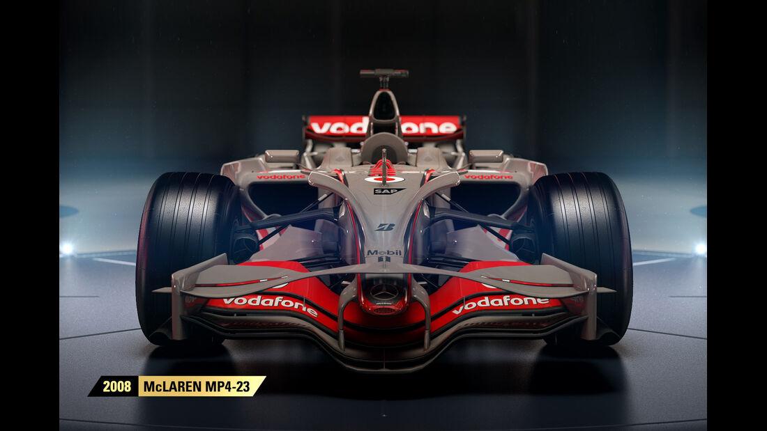 F1 Game 2017 - Codemasters - Screenshot - McLaren MP4/23 (2008)