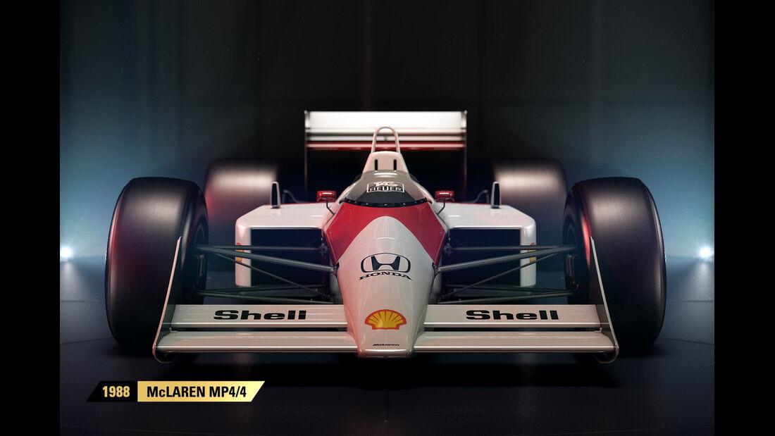 F1 Game 2017 - Codemasters - Screenshot - McLaren MP4/4 (1988)