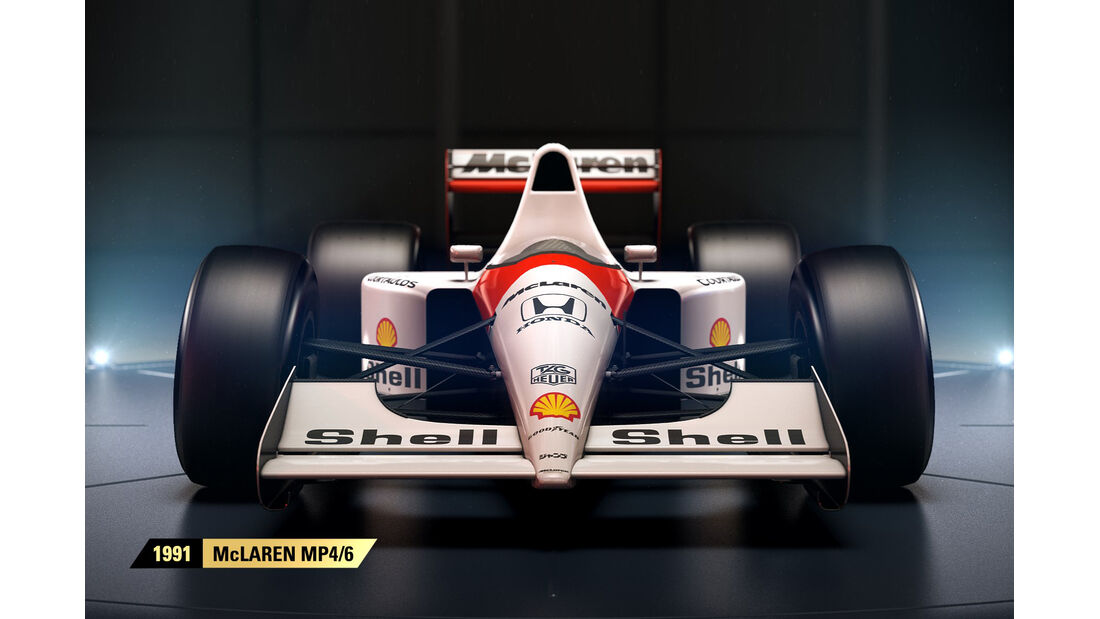 F1 Game 2017 - Codemasters - Screenshot - McLaren MP4/6 (1991)