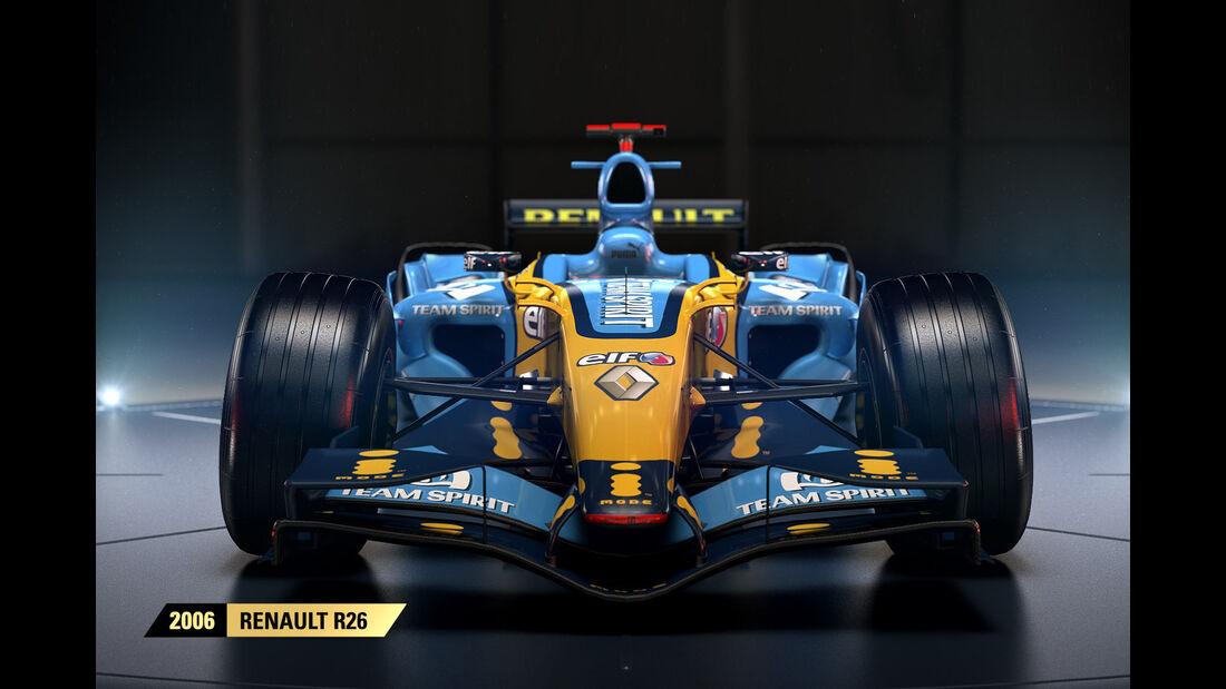 F1 Game 2017 - Codemasters - Screenshot - Renault R26 (2006)