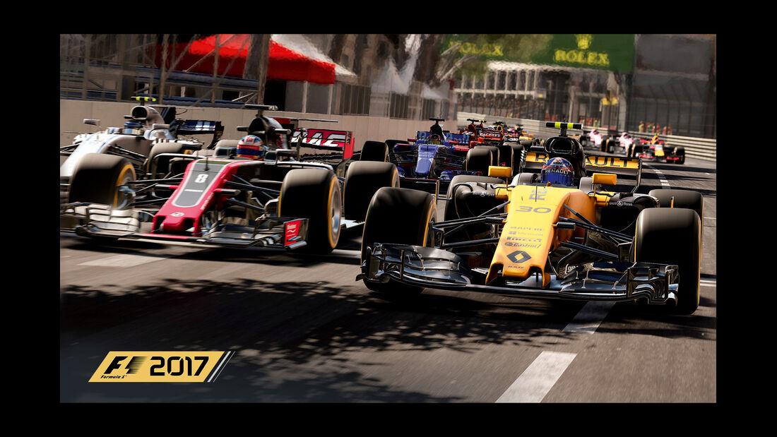 F1 Game 2017 - Codemasters - Screenshot - Renault RS17