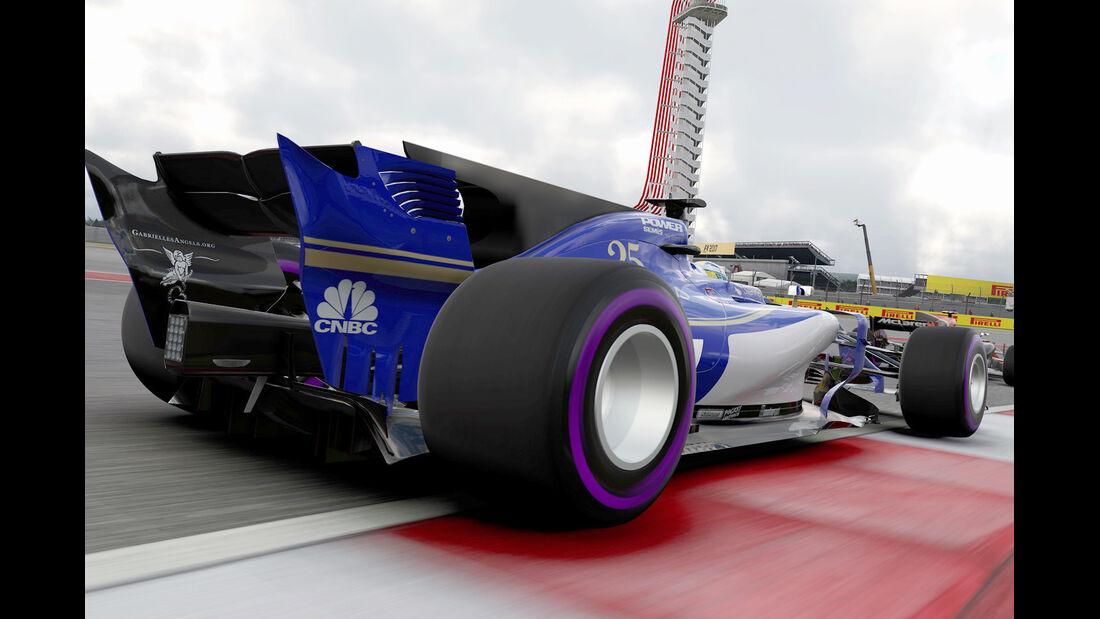 F1 Game 2017 - Codemasters - Screenshot - Sauber C36