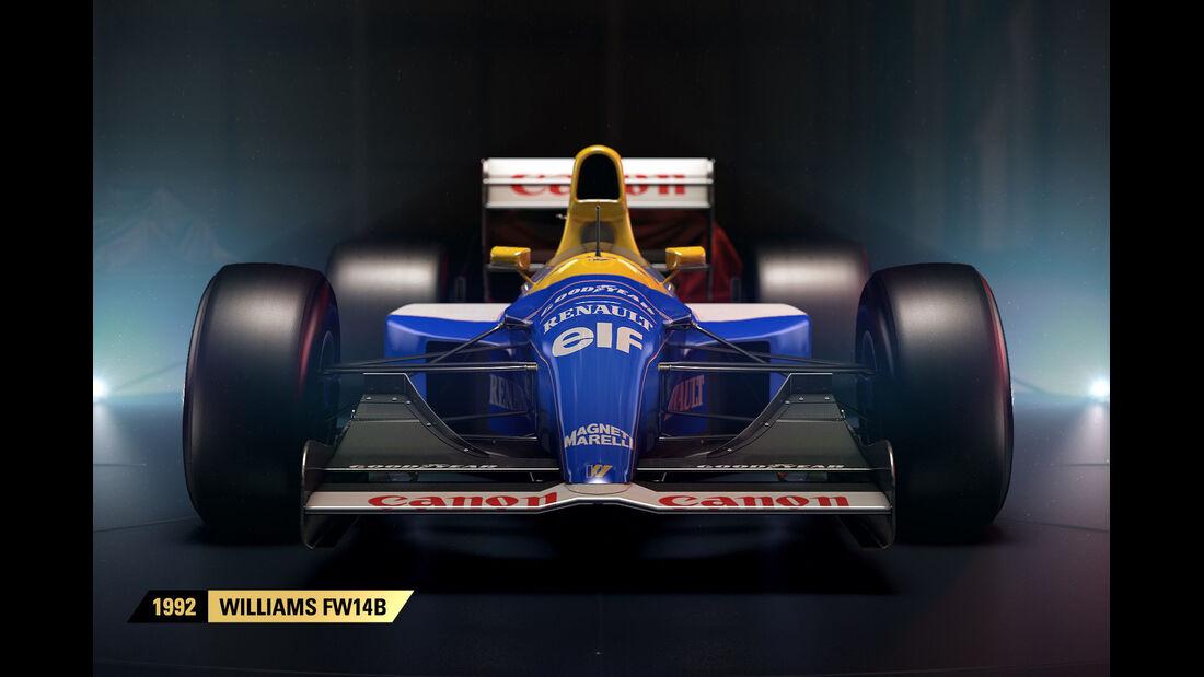 F1 Game 2017 - Codemasters - Screenshot - Williams FW14B (1992)