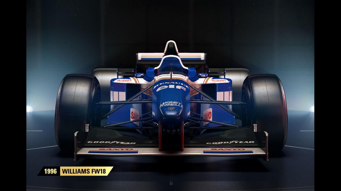 F1 Game 2017 - Codemasters - Screenshot - Williams FW18 (1996)