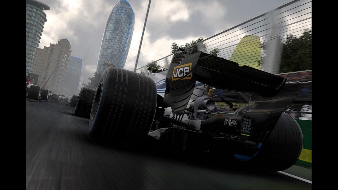 F1 Game 2017 - Codemasters - Screenshot - Williams FW40