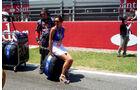 F1 Girl GP Spanien Barcelona