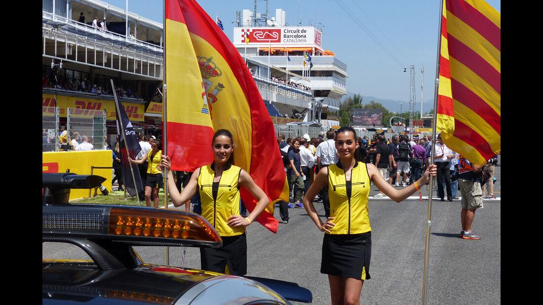 F1-Girls - GP Spanien 2015 - Barcelona - 10.5.2015