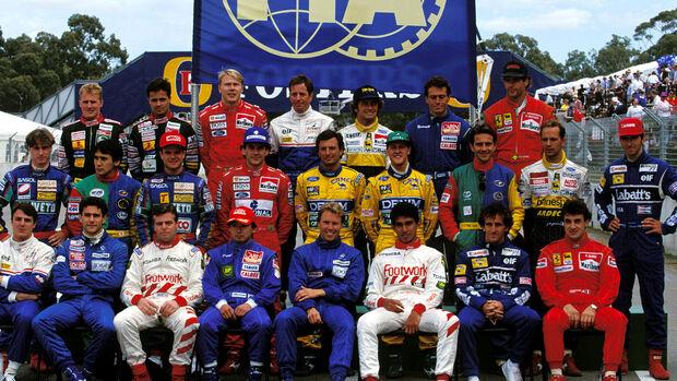 F1-Gruppenfoto 1993