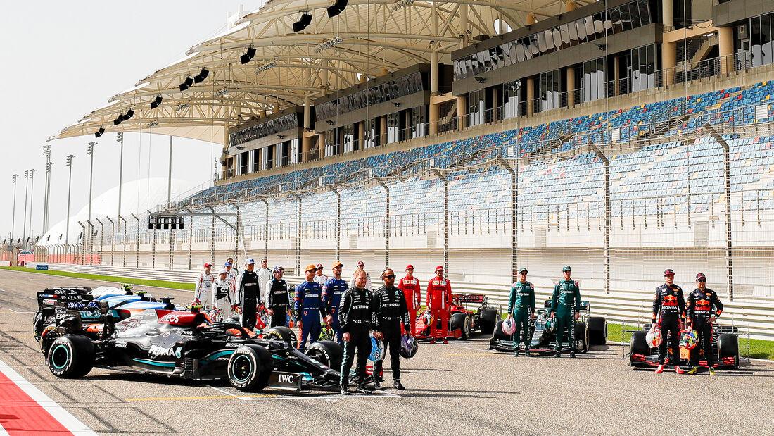 F1 Gruppenfoto - Bahrain - Test - 2021