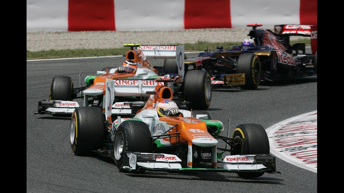 F1 Halbjahresbilanz Force India 2012