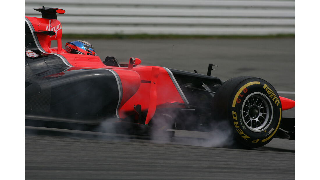 F1 Halbjahresbilanz Marussia 2012