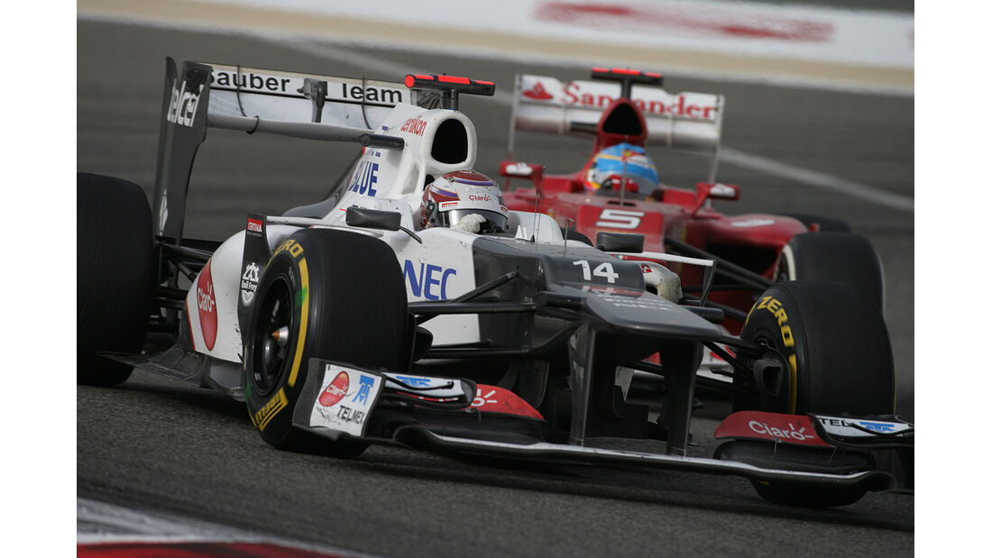 F1 Halbjahresbilanz Sauber 2012