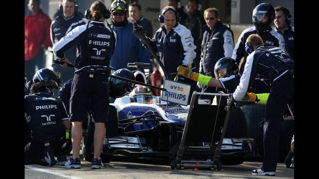 F1 Jerez Test 2010