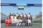 F1-Klassenfoto - Formel 1 - GP Australien 2015