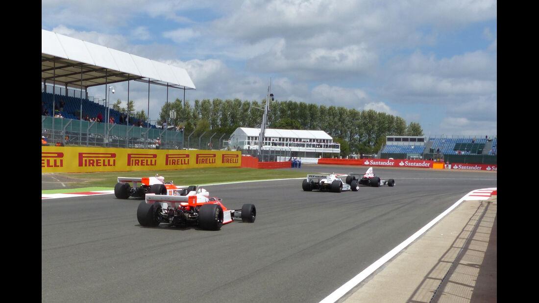 F1-Klassiker - Formel 1 - GP England  - Silverstone - 4. Juli 2014