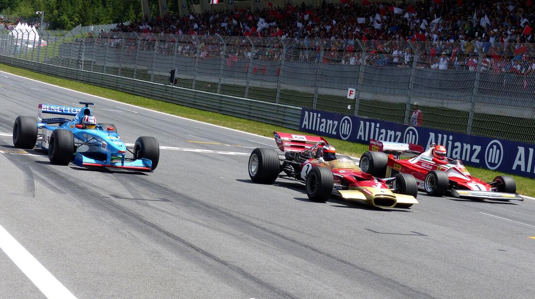 F1-Legenden - GP Österreich 2014