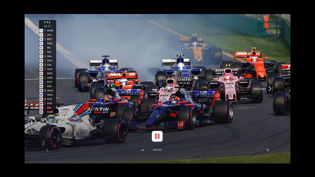 F1 Live-Streaming - Screenshot - 2018