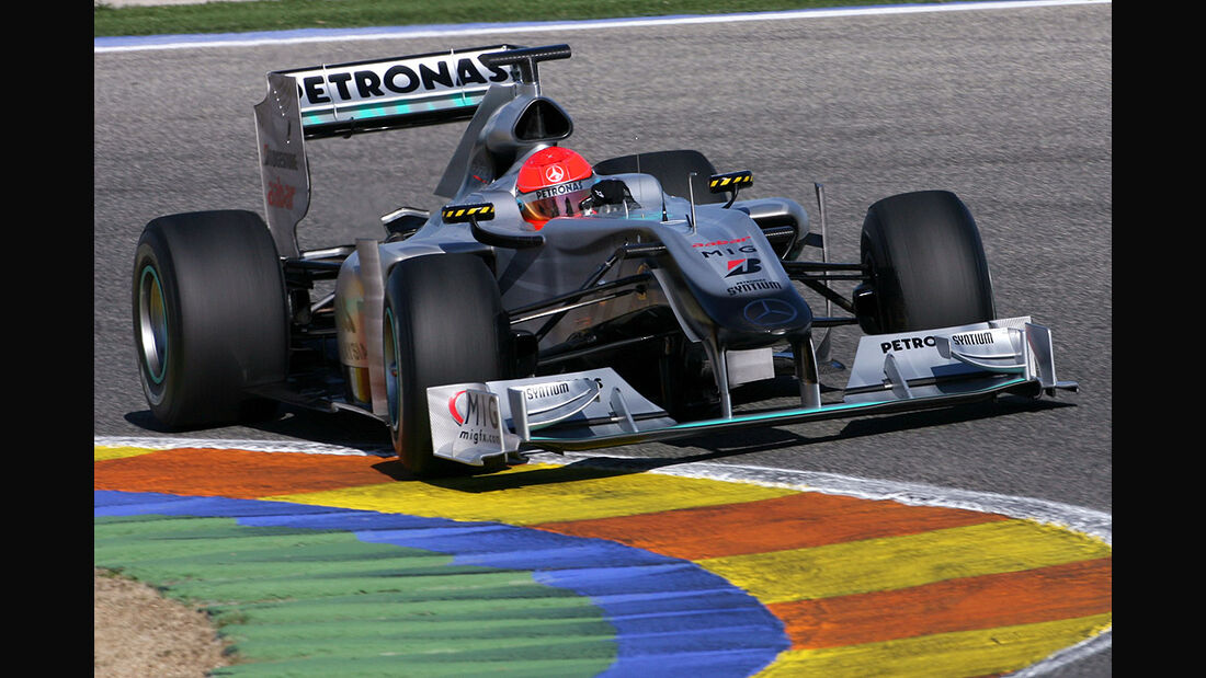 F1 Michael Schumacher