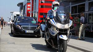 F1 Mietwagen / Dienstwagen - GP Ungarn 2013