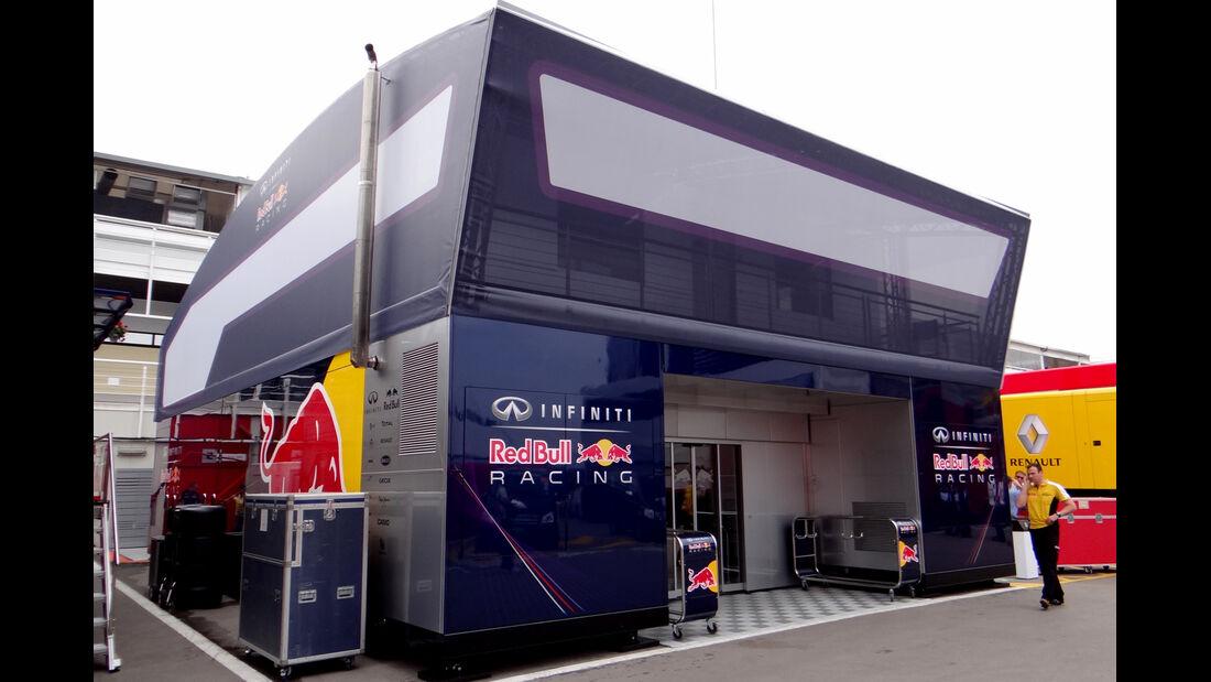 F1 Motorhomes 2013 - GP Spanien
