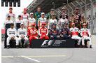 F1 Piloten 2013 - GP Brasilien 2013