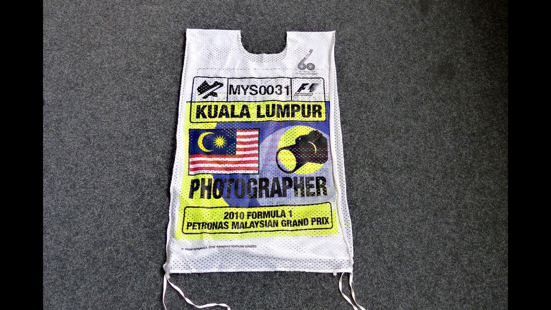 F1 Pitlane Latz GP Malaysia 2010