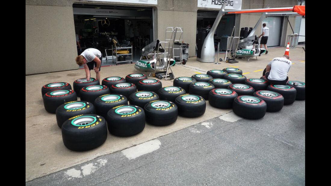 F1-Reifen GP Kanada 2011