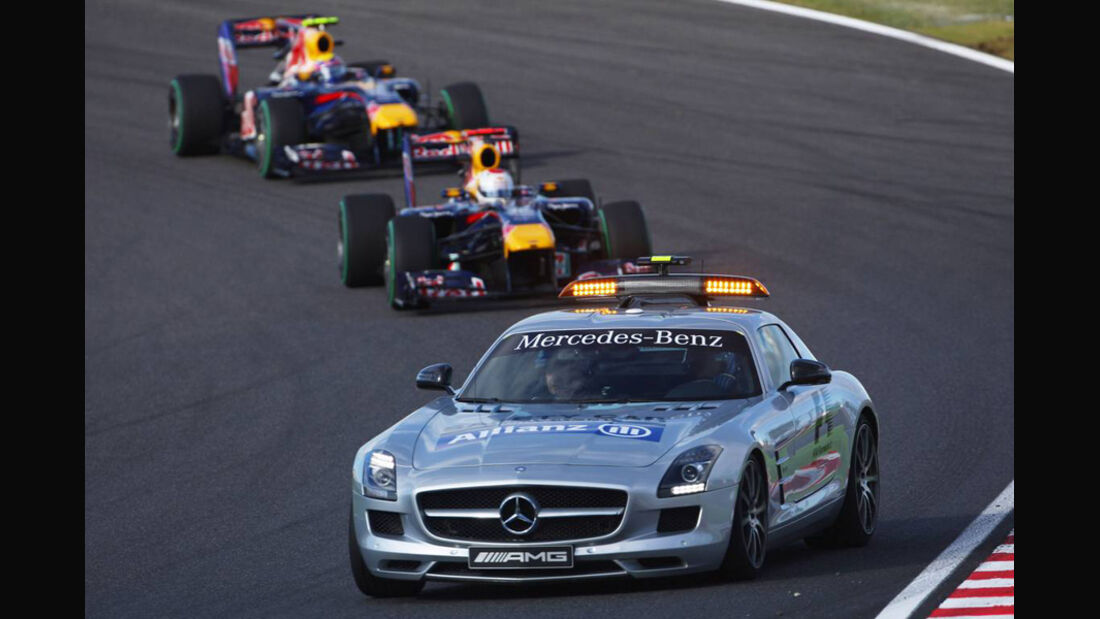 F1 Safety Car GP Japan