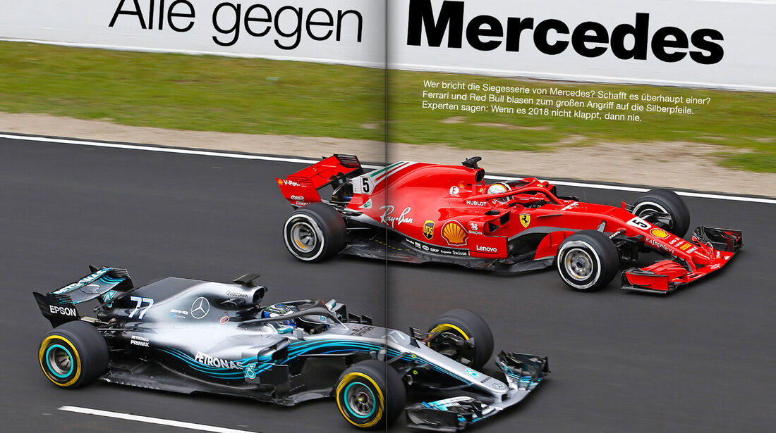 F1 Sonderheft 2018 - Vorschau - Spezial - Formel 1