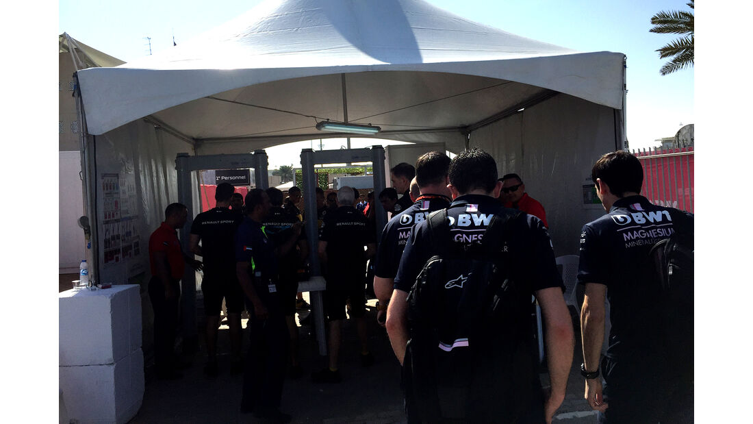 F1-Tagebuch - GP Abu Dhabi 2018