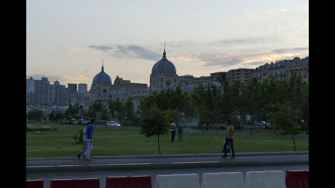 F1 Tagebuch - GP Aserbaidschan 2017 - Baku