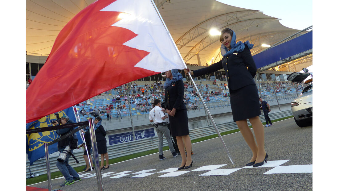 F1 Tagebuch - GP Bahrain 2014