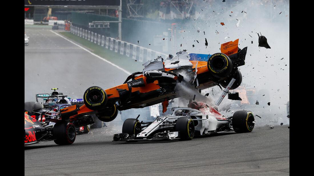 F1-Tagebuch - GP Belgien 2018