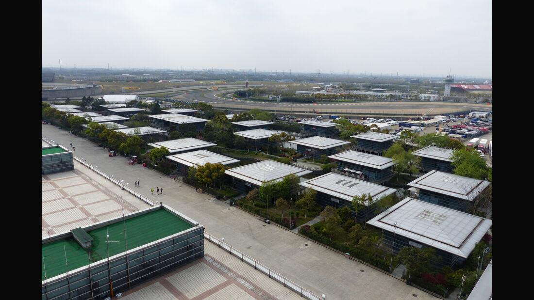 F1 Tagebuch - GP China 2015