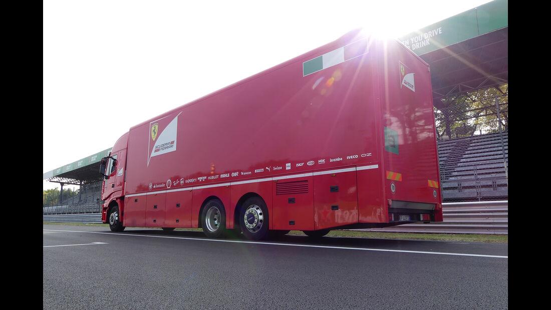 F1 Tagebuch GP Italien 2017