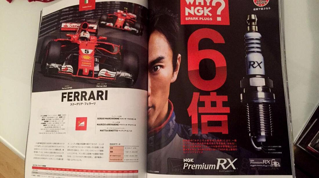 F1 Tagebuch GP Japan 2017